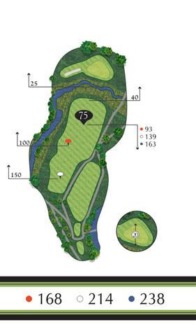 Golf Regina - Hole 3 Flowing Springs Golf Greens