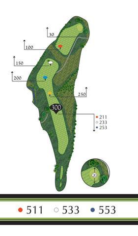 Golf Regina - Hole 4 Flowing Springs Golf Greens