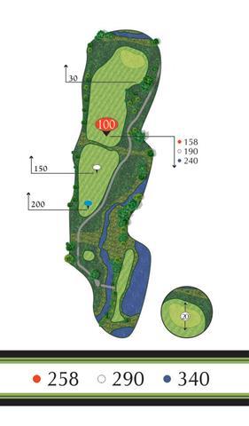 Golf Regina - Hole 6 Flowing Springs Golf Greens